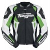 Spyder 2015 Motorbike Racing Leather Green Jacket