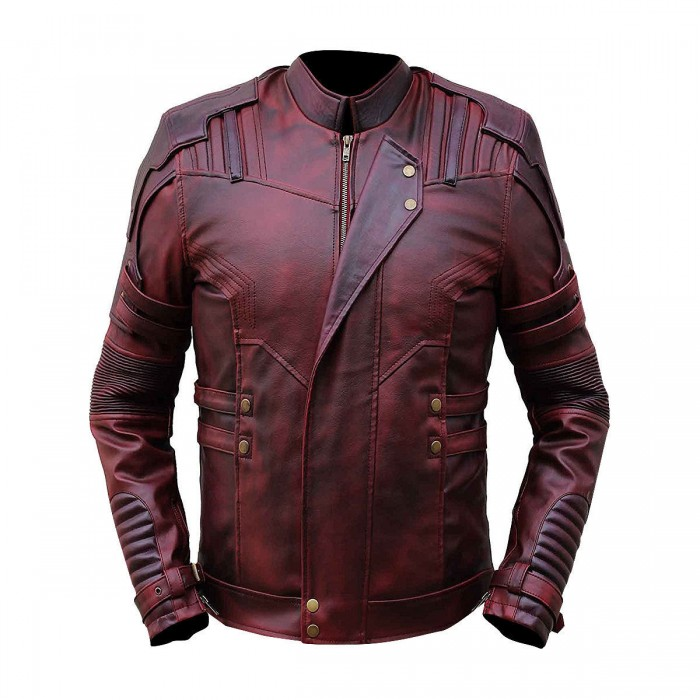 Star Lord Leather Jacket From Guardians Of The Galaxy 2