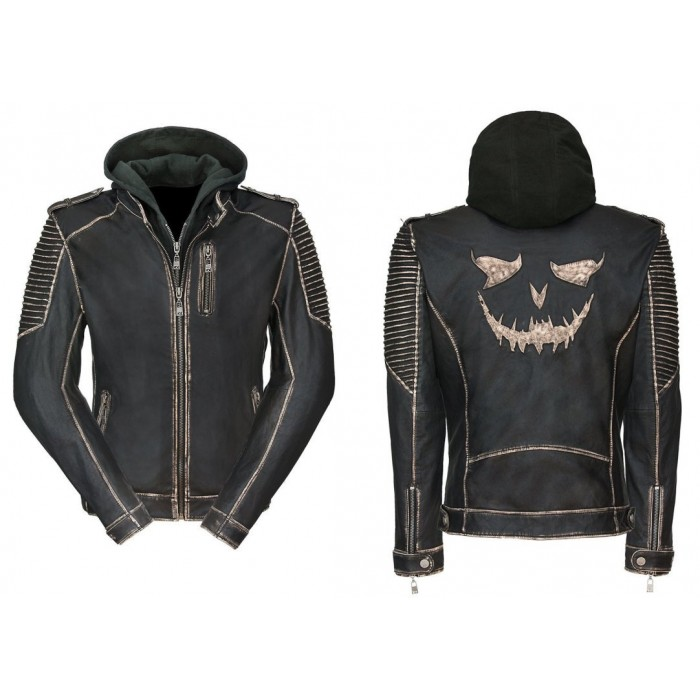 Suicide Squad 'The Killing Jacket' Joker Leather Jacket
