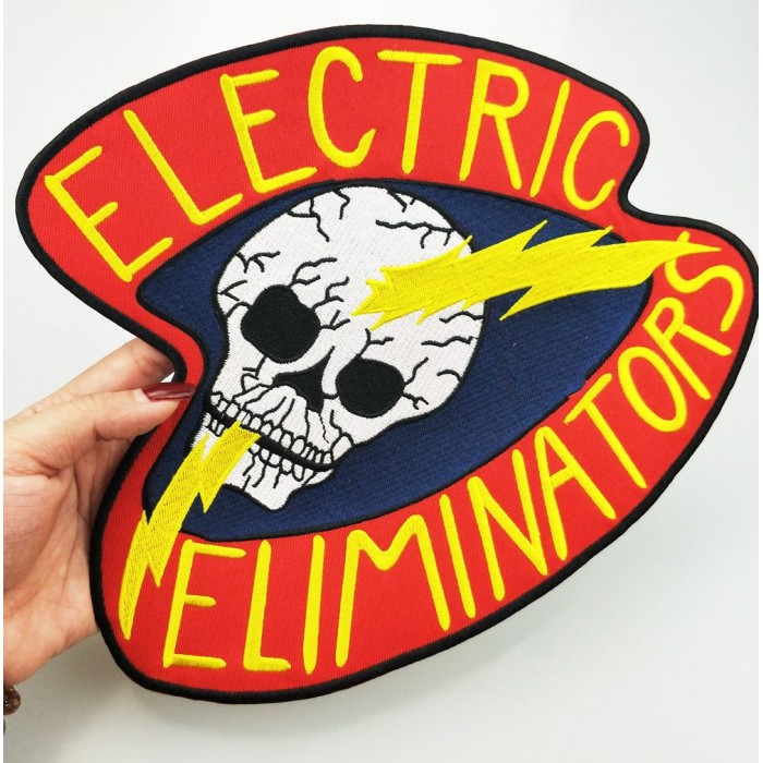 The Electric Eliminators Embroidered Patch The Warriors Movie