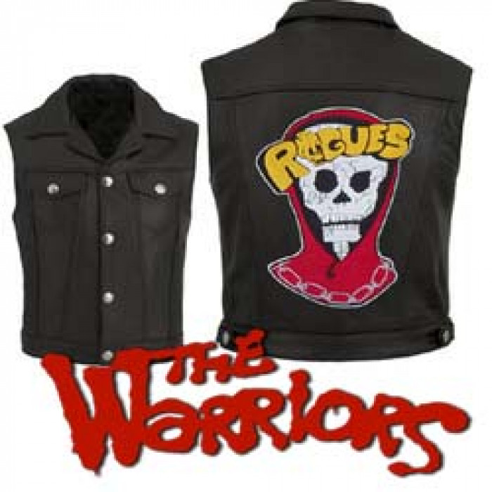 The Warriors Movie Rogues Leather Vest