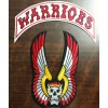 The Warriors Movie Vest Embroidery Patches Set