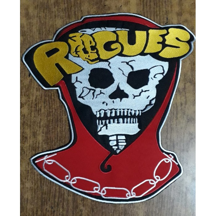 The Warriors Rogues Vest Embroidered Patch