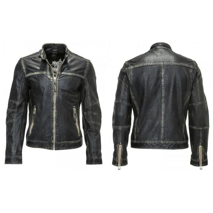 Old Style Vintage Beige Retro Leather Jackets