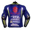Men's Andrea Iannone Suzuki MotoGP 2017 Racing Leather Jacket