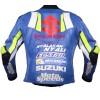Men's Joan Mir Suzuki MotoGP 2019 Motorcycle Racing Leather Jacket