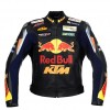 Men's RedBull Motorcycle Racing Leather Jacket