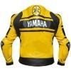 Men's Yamaha Yellow Petronas Motorbike Leather Jacket