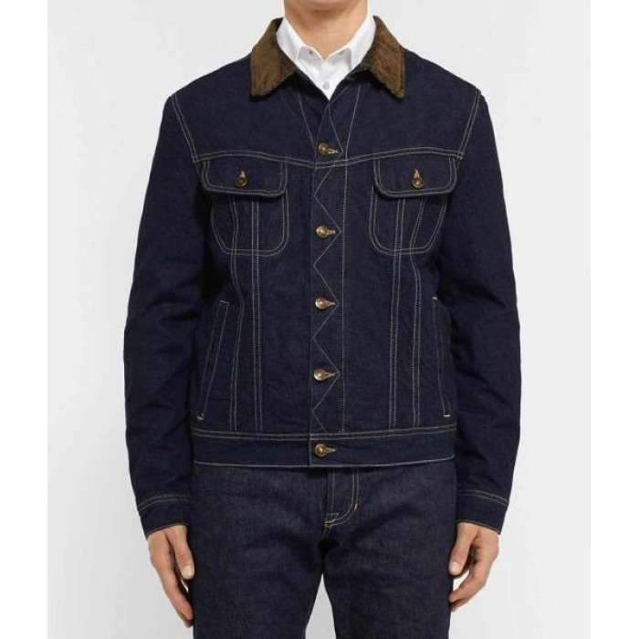 Kingsman The Golden Circle Secret Agent Tequila Denim Jacket