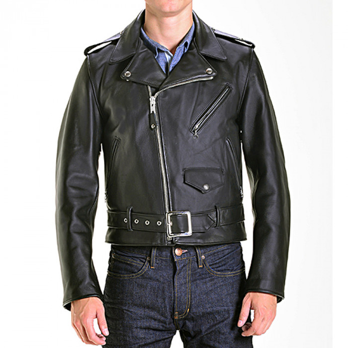 Marlon Brando The Wild One Star Classic Motorcycle Leather Jacket