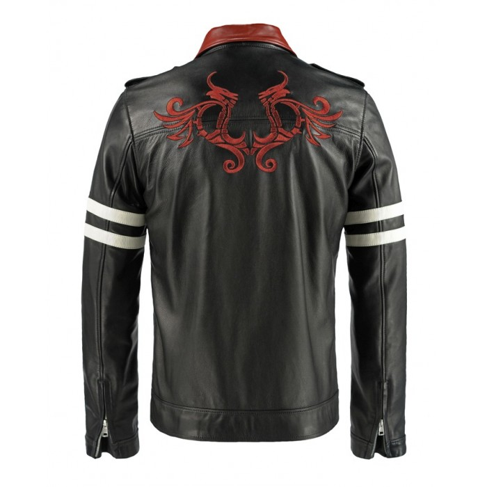 Alex Mercer Prototype Leather Jacket Halloween Replica