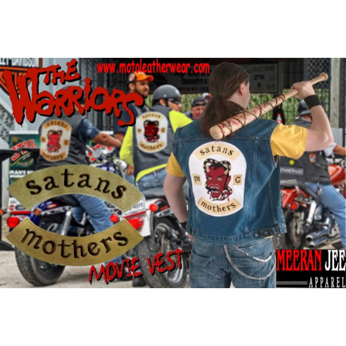 Satan's Mothers The Warriors Movie Jeans Vest