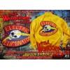 The Electric Eliminators Yellow Satin Jacket