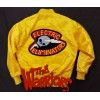 The Electric Eliminators Yellow Satin Jacket