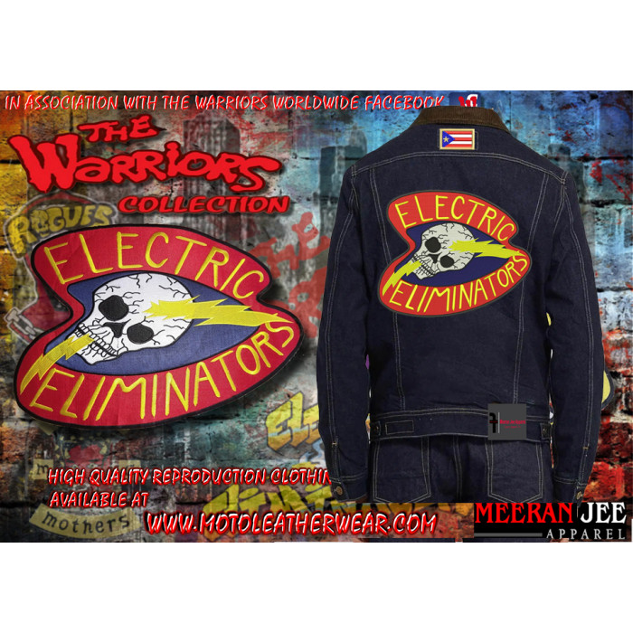 The Electric Eliminators Denim Jacket