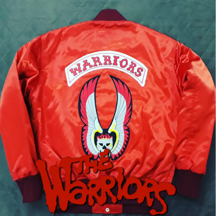 The Warriors Movie Red Bomber Jacket