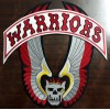 The Warriors Vest Embroidery Patches Set